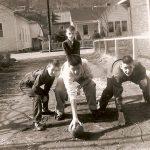Bobby Szakal, Joe Piros , Bobby Piros, Frank Szakel -1955
