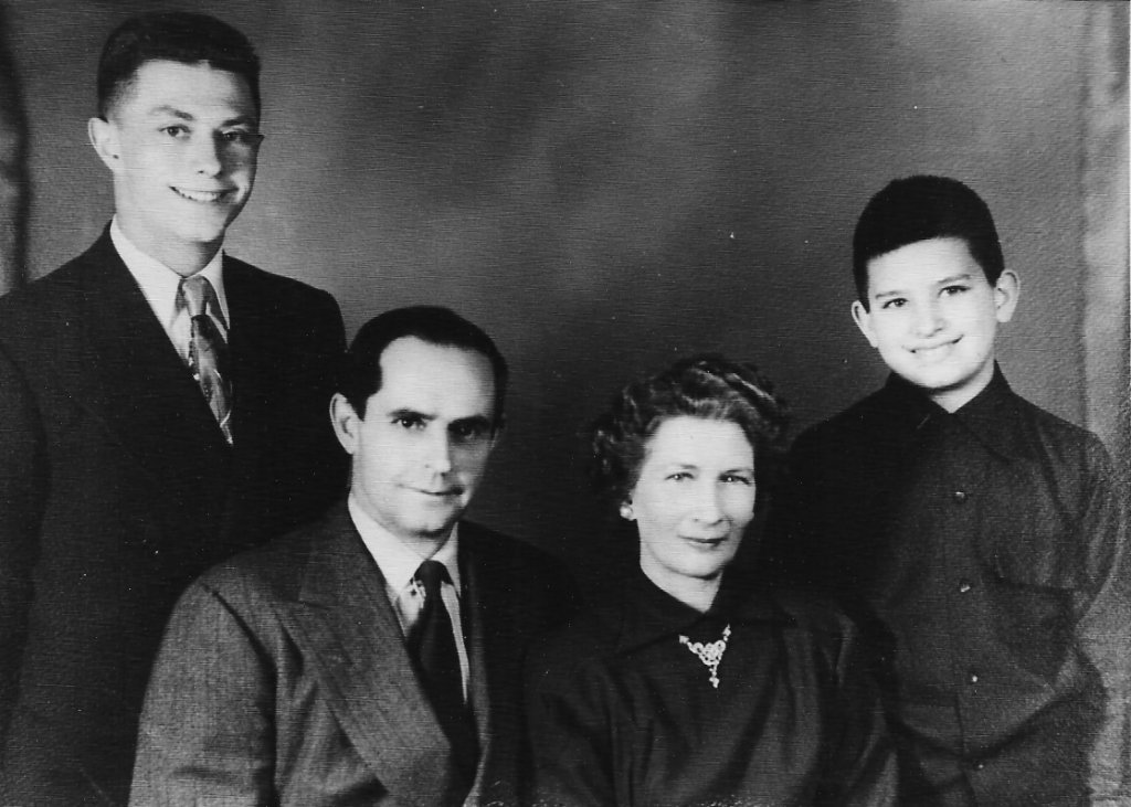 Ron McCormack, C B McCormack, Virginia McCormack & Bobby McCormack.