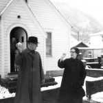 C B McCormack home 1963 with Roy & Margaret Hinkle from Holden