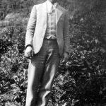 Clovis McCormack taken in 1928 at Monitor, WV.