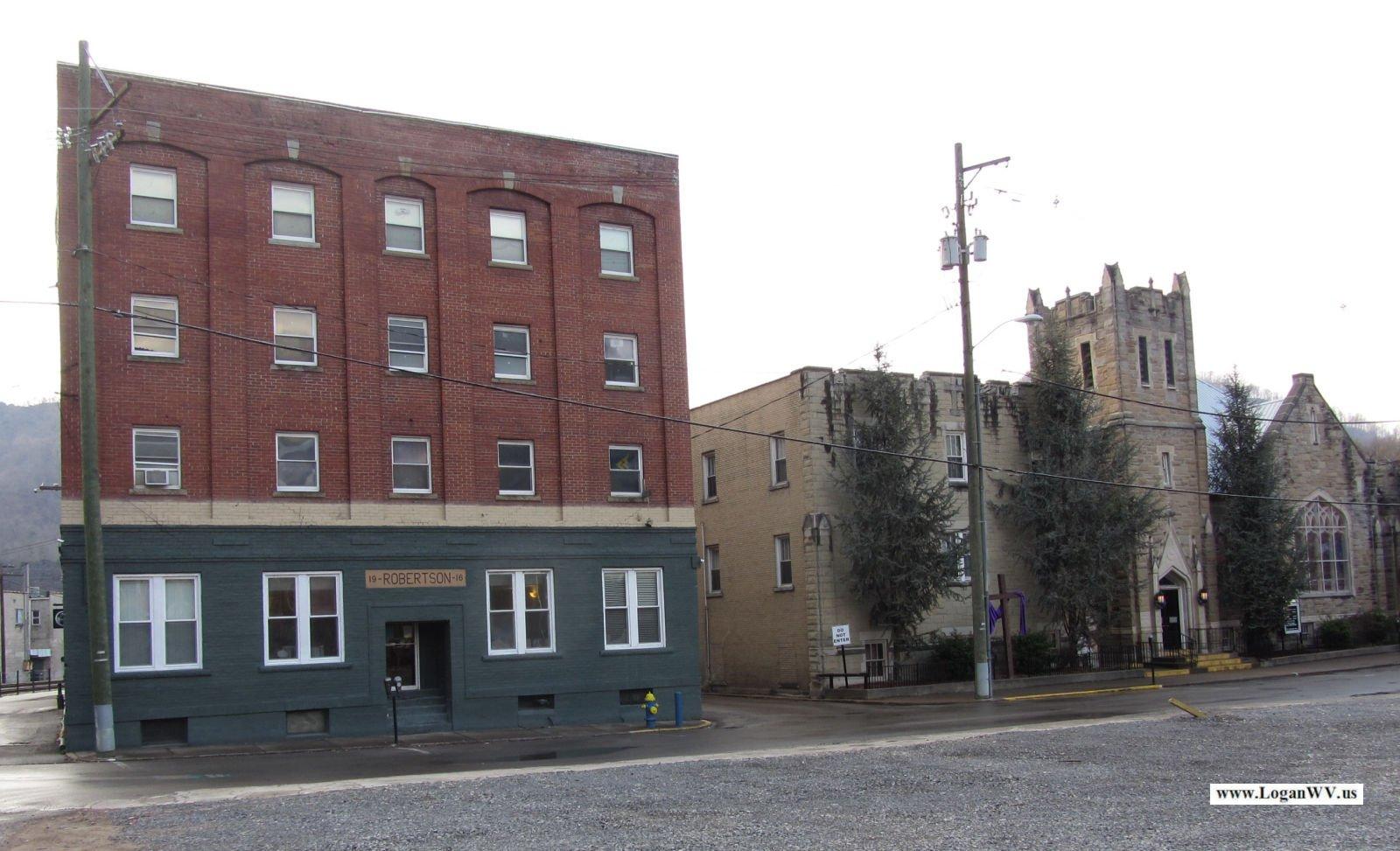 Cole Street, Logan, WV taken 3-25-2014