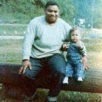 Daniel Lunsford Black with nephew, Ralph Black 1974