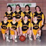Dingess Rum Basketball players 1989