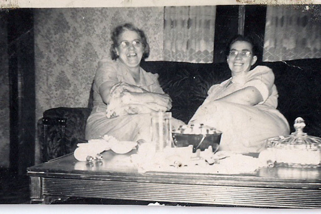 Dora Davidson & Flora Mays