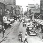 1940s Downtown Logan, WV