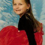 Elizabeth Florimbio, granddaughter of Robert McCormack, daughter of Michelle McCormack Florimbio.
