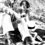 Elizabeth Taylor with boyfriend Johnny Jones of Monitor, WV taken in 1927.