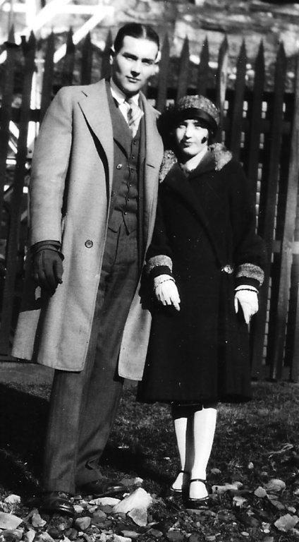 Elizabeth Taylor with boyfriend Johnny Jones of Monitor, WV..