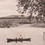 Elk River Suspension Bridge, Charleston, WV circa 1904