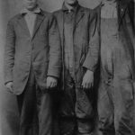 Emery S. Killen (center) born in 1898 courtesy of Ralph McNeely