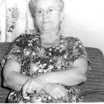 Emma Burk Reesves, daughter of Pleasant Burk of Carter County, KY.