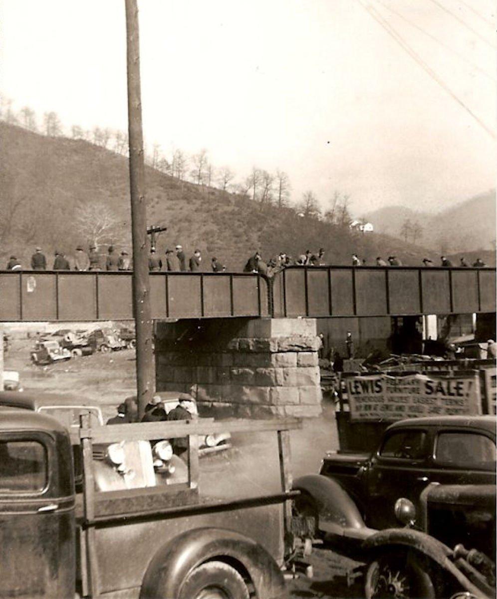 Flood 1940, Monitor Junction