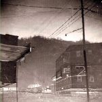 Flood 1963 -Monitor Junction -Vito Exposito building in background