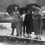 Flood 1957 Steve Ratz, Thelma Erlewine, Barbara Erlewine, Patty Erlewine & Billy Erlewine