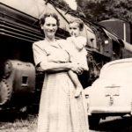 Frances Lucas and grandchild