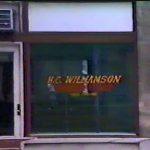 H.C. Williamson Barber Shop downtown Logan