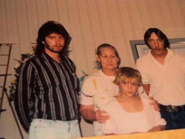 Harold, Thelma, James and Shanda Adkins
