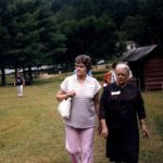 Harriet Sansom & Sonia at Sansom family reunion