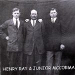 Henry, Ray and Junior McCormack, grandsons of Gordon Lafayette McCormack of Carter County, KY.