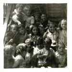Herb Blankenship Birthday Party at Fisher bottom: ROW 1-?,?,BROWNING, BROWNING, BROWNING, DORIS BROWNING