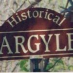 Historical Argyle Sign