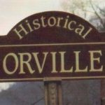 Historical Orville Sign