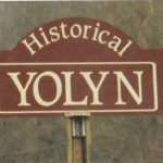 Historical Yolyn Sign
