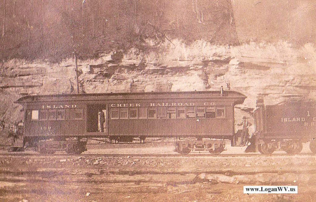 Island Creek Train Car, Logan County, WV