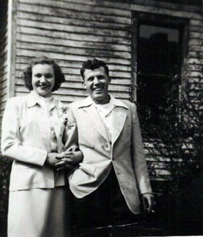 Jean Tiller and Eugene Hanks