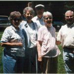 Jean Tiller, Opal Sansom, Bob Sansom, unknown and Jack Tiller