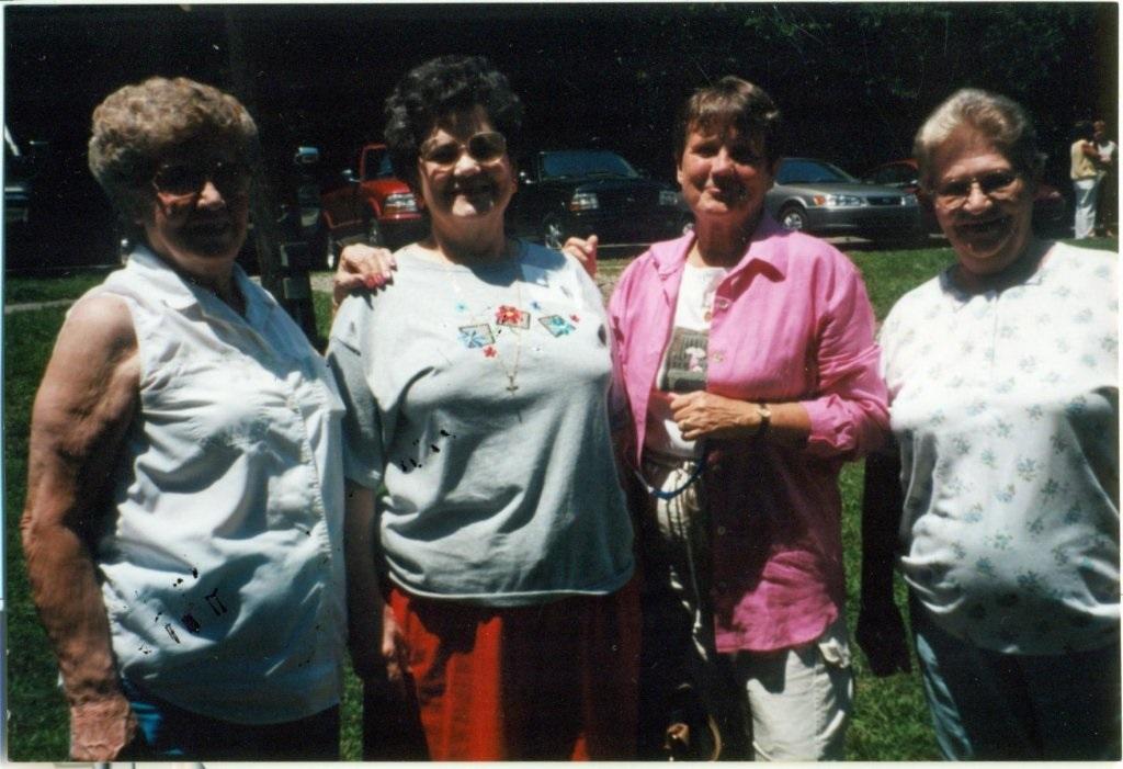 Jean Tiller, unknown and Jeanie Tiller