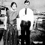 Jess Ursel Taylor Sr and Lula Adkins Taylor.  Taken at Monitor, WV in 1926.