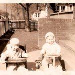 Jim Porter & Bobby Piros 1947