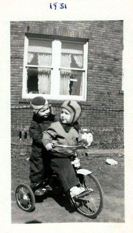 Jim Porter and Bob Piros 1951