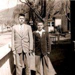 Joe Piros and Ronnie Szakal 1953