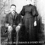 John Dee McCormack and Sidney Rice McCormack of Howard Lake, MN.