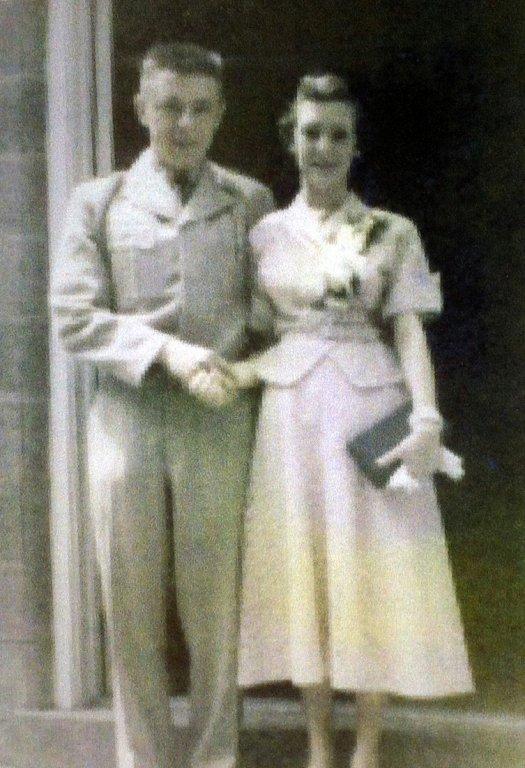 John H. and Virginia Ruth Sagraves wedding