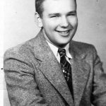 Johnny George Jones Junior. Graduation from Logan High School after which he joined the Air Force.