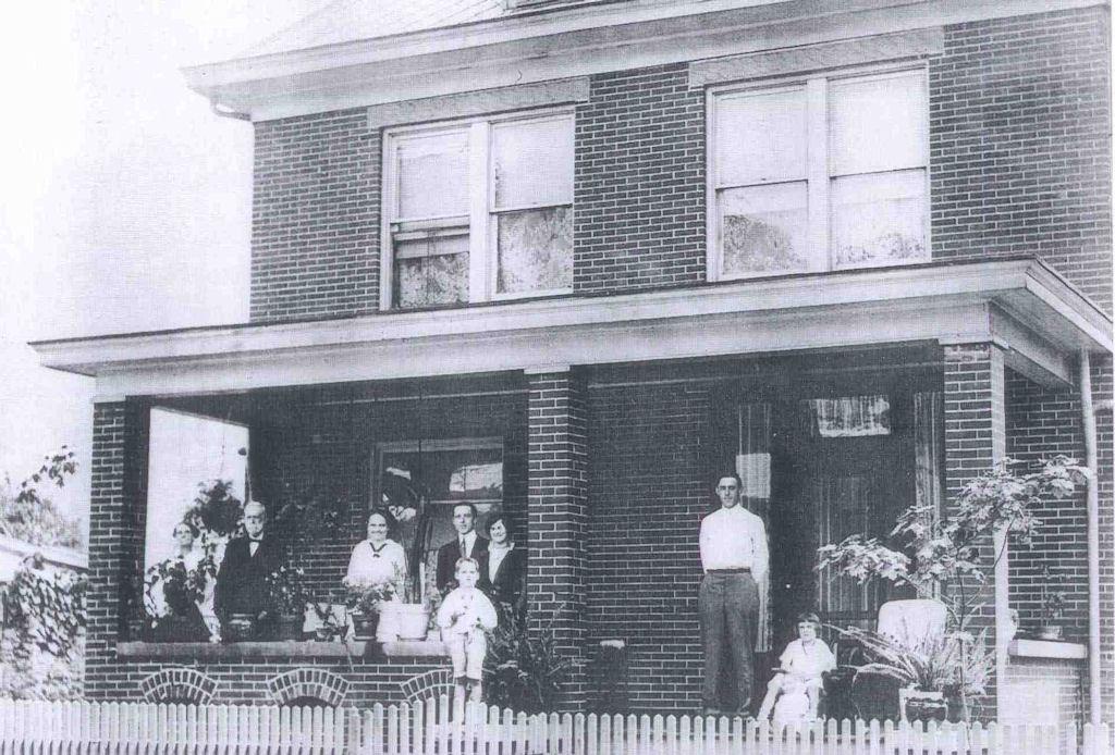 The Johnson House, 108 Bridge Street, Logan WV c. 1918