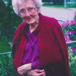 Kayte Atkins at 90 mother of Eddie and Doris Atkins.