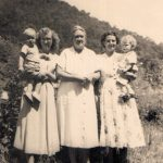 Larry Chambers, Lillian Owsley Chambers, Madge Owsley, Stella and Johnny Ray Owsley