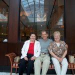 LHS classmates Robert McCormack, Janet Dameron and Beulah Samson. Taken at Tyson Corners, VA