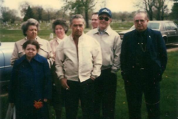 Linville Children:  Back:  Lora, Virginia; : Front Ethel, Buddy, Richard & Norman Linville