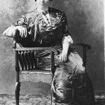 izzie Bowling Steele, daughter of Bill Bowling of Willard, KY.