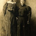 1910 Lizzie Bowling Steele and Alice Bowling Taylor. Daughter of Bill Bowling of Willard, KY.