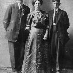 Lizzie Bowling Thomas and husband Heston Thomas and her son, Howard Steele.