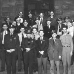 Logan County Sheriff and Deputies mid 1950s courtesy of Ralph Baldwin