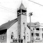 The old Methodist Church in Logan, WV.