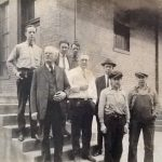 Logan Post Office staff courtesy of David S. Solar