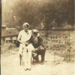 Mary Gold Chittum Vance and her half sister Bessie